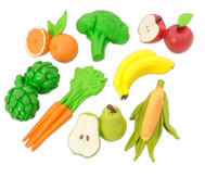 Obst, Gemüse, Nahrung, 8 Stück