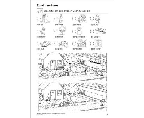 Artikel Praepositionen  Nomen - Mein Zuhause 1-2-4
