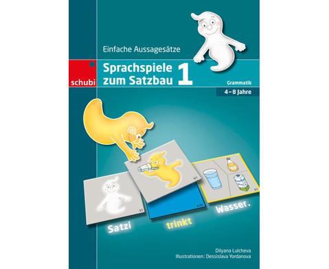 Sprachspiele zum Satzbau 1-1