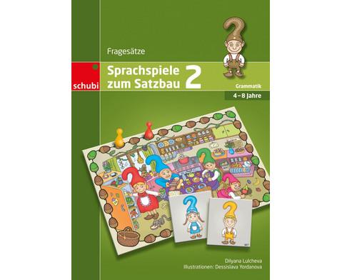 Sprachspiele zum Satzbau 2-1