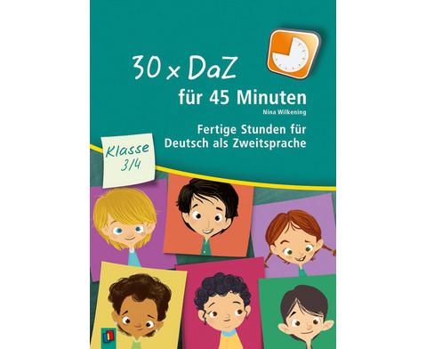 30 x DaZ fuer 45 Minuten - Klasse 3-4