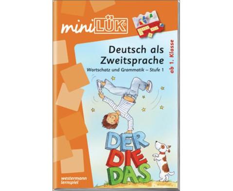 miniLUEK DaZ Wortschatz und Grammatik Stufe 1