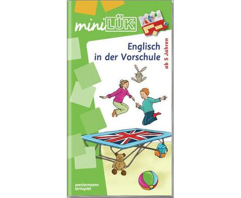 miniLUEK Englisch in der Vorschule