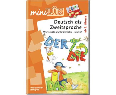 miniLUEK DaZ Wortschatz und Grammatik Stufe 2