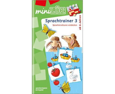 miniLUEK Sprachtrainer 3-1