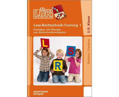 LUEK Lese-Rechtschreibtraining 1 ab 2 Klasse