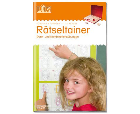 LUEK Raetseltrainer fuer 1- 3 Klasse