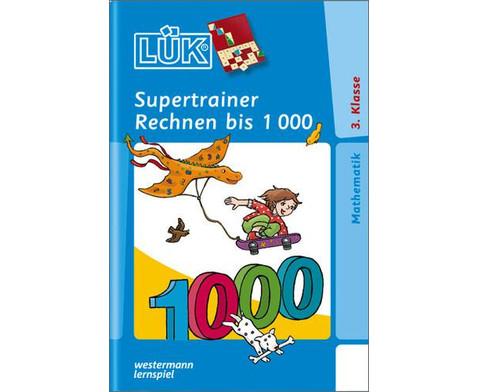 LUEK-Supertrainer Rechnen bis 1000-1