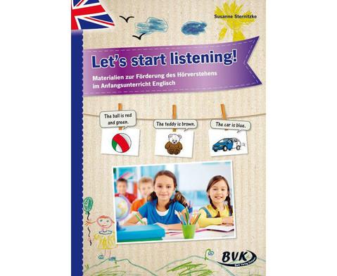 Lets start listening - fuer 1-2 Klasse
