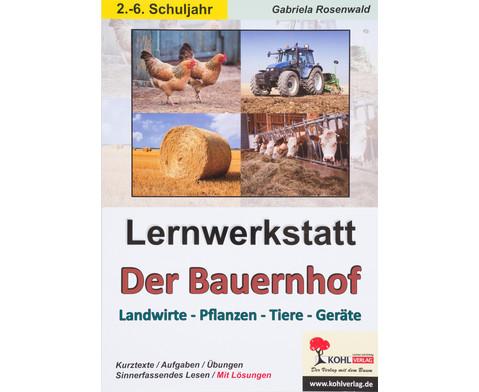 Lernwerkstatt Der Bauernhof - 2-6 Klasse-1
