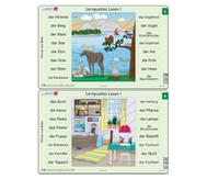 Lernpuzzles Lesen I - Wörter + Bilder