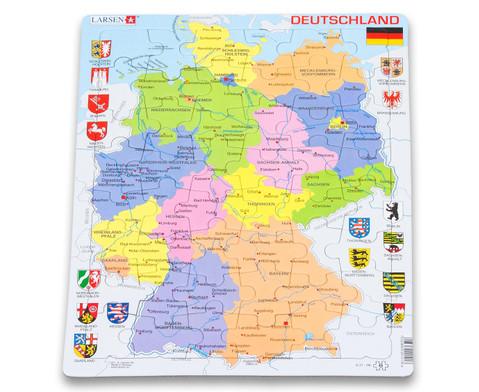 Deutschland - politisch - Puzzle-1