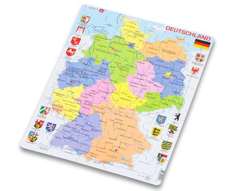 Deutschland - politisch - Puzzle-2
