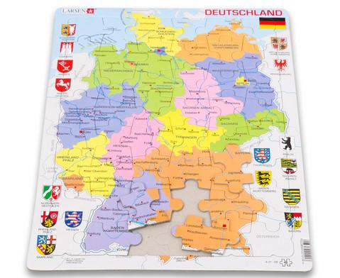 Deutschland - politisch - Puzzle-3
