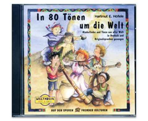 In 80 Toenen um die Welt Audio CD