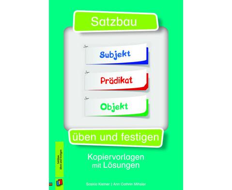 Satzbau üben und festigen - betzold.de