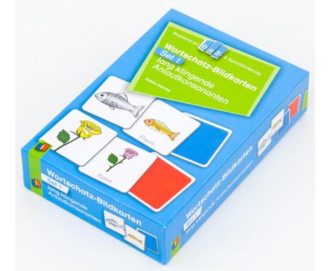 Wortschatz-Bildkarten - Set 1  lang klingende Anlautkonsonanten-2
