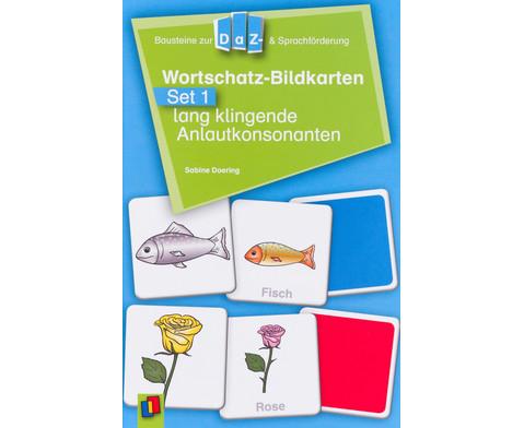 Wortschatz-Bildkarten - Set 1  lang klingende Anlautkonsonanten-5