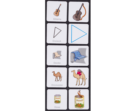 Wortschatz-Bildkarten - Set 2  kurz klingende Anlautkonsonanten-3