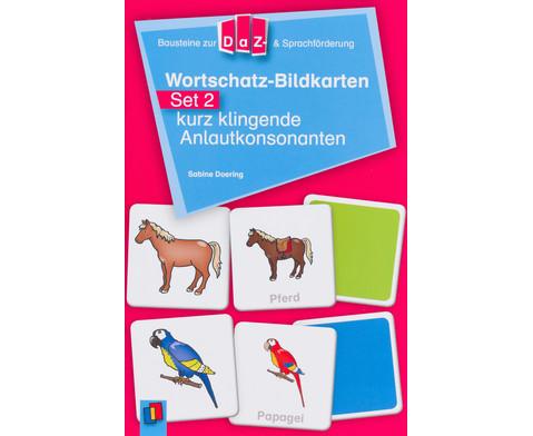Wortschatz-Bildkarten - Set 2  kurz klingende Anlautkonsonanten-8