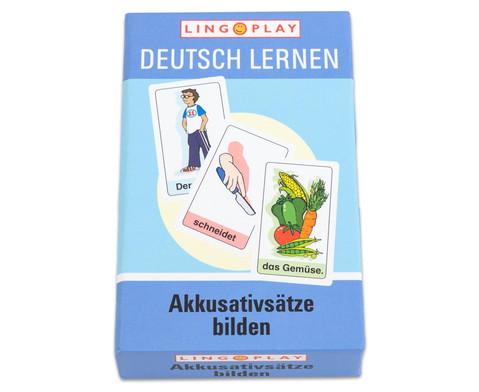 Deutsch Lernen - Akkusativsaetze bilden