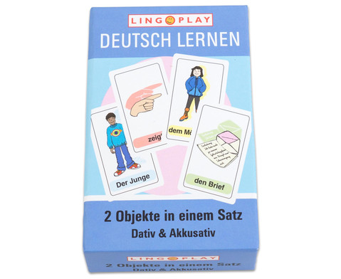 Deutsch Lernen - 2 Objekte in einem Satz DaZ-Basisgrammatik-1