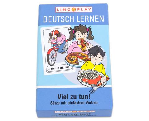Deutsch Lernen - Viel zu tun