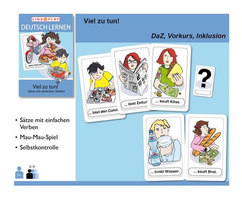 Deutsch Lernen - Viel zu tun-2