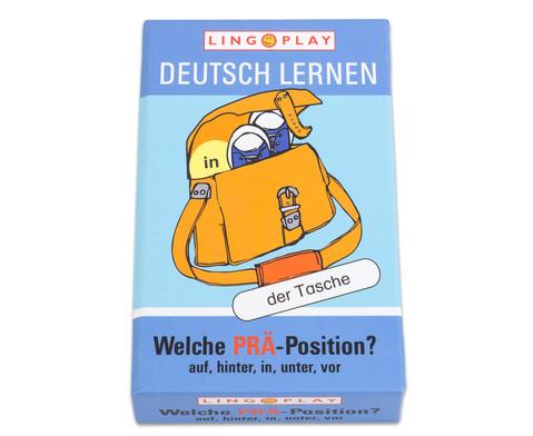 Deutsch Lernen - Welche PRAE-Position-1