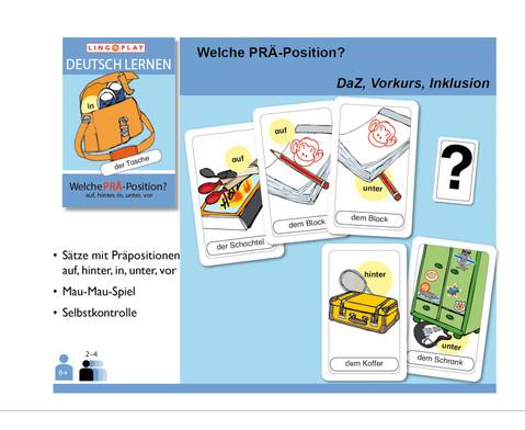 Deutsch Lernen - Welche PRAE-Position-2