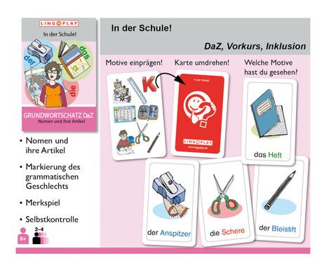 Grundwortschatz DaZ - In der Schule DaZ-Grundwortschatz-2
