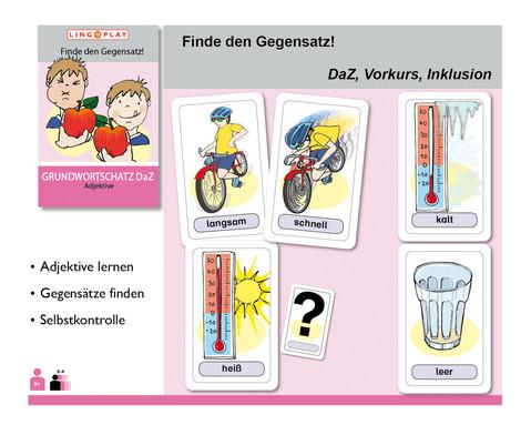 Grundwortschatz DaZ - Finde den Gegensatz-2