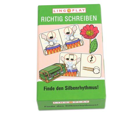 Richtig Schreiben - Finde den Silbenrhythmus-1