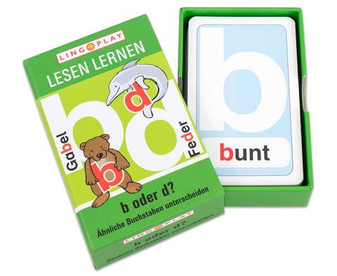 Lesen Lernen - b oder d AEhnliche Buchstaben unterscheiden-2