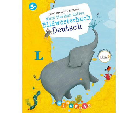 Mein tierisch tolles Bildwoerterbuch Deutsch  - Bildwoerterbuch-1