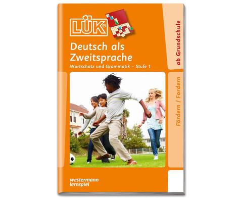 LUEK Deutsch als Zweitsprache Stufe 1 fuer 1- 4 Klasse
