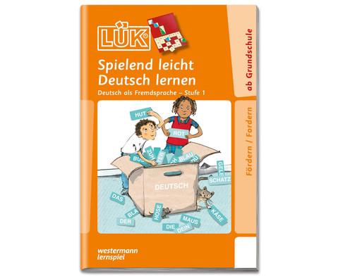 LUEK Spielend leicht Deutsch lernen Stufe 1 ab 1 Klasse