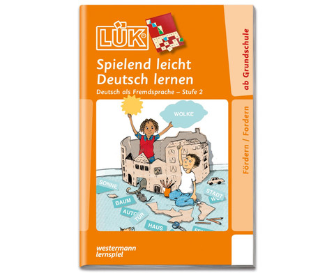 LUEK Spielend leicht Deutsch lernen Stufe 2 ab 1 Klasse