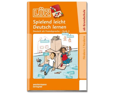 LUEK Spielend leicht Deutsch lernen 3-1