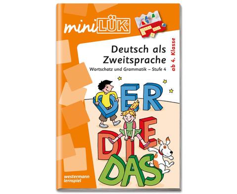miniLUEK Deutsch als Zweitsprache 4
