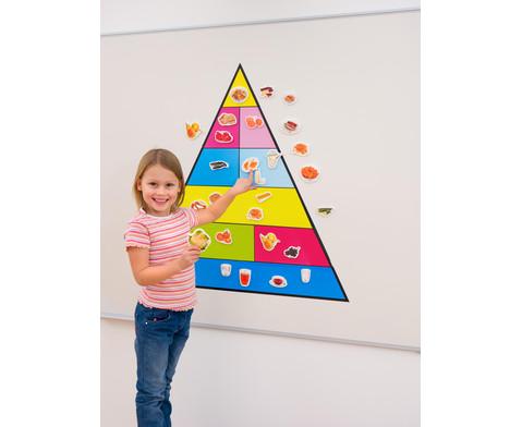 Lebensmittelpyramide und 50 Bilder magnetisches Set-2