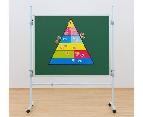 Lebensmittelpyramide und 50 Bilder magnetisches Set-4