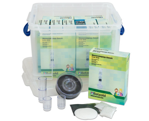 Wasserfilter-Set in Transportbox