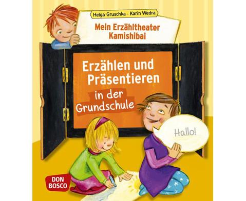 Erzaehltheater Kamishibai-Erzaehlen  Praesentieren in der Grundschule