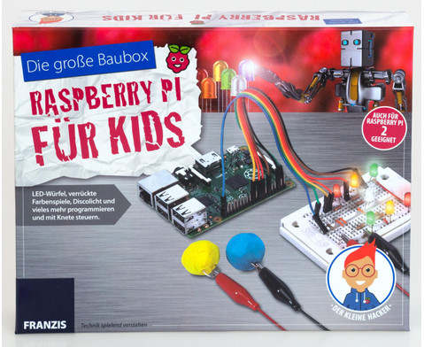 Die grosse Baubox - Raspberry PI fuer Kids-1