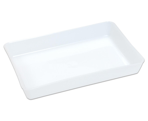 Milchweisse Materialschalen klein 5 Stueck