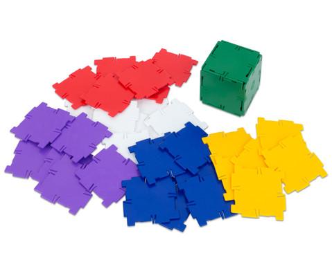 Polydron Satz mit 36 Quadraten-1