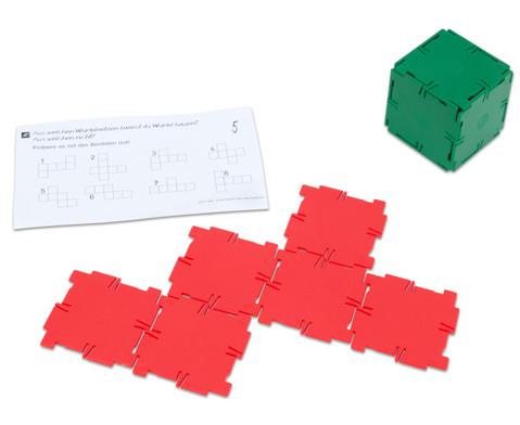 Polydron Satz mit 36 Quadraten-2