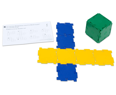 Polydron Satz mit 36 Quadraten-3
