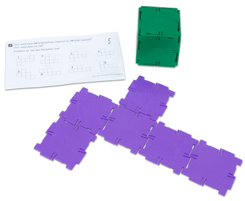 Polydron Satz mit 36 Quadraten-4